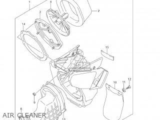 Suzuki Rm125 2008 (k8) Usa (e03) parts list partsmanual