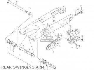 Suzuki RM125 2008 (K8) USA (E03) parts lists and schematics