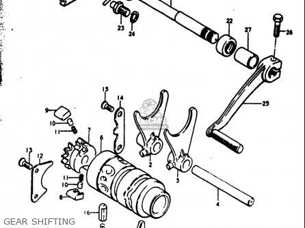 Suzuki Rm250 1976-1978 (usa) parts list partsmanual partsfiche