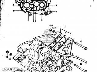 Suzuki Rm250 1976 (a) Usa (e03) parts list partsmanual