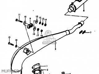Suzuki RM250 1980 (T) USA (E03) parts lists and schematics