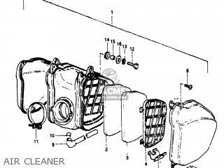 Suzuki RM250 1981 (X) USA (E03) parts lists and schematics