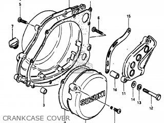 Suzuki RM250 1981 (X) USA (E03) parts lists and schematics