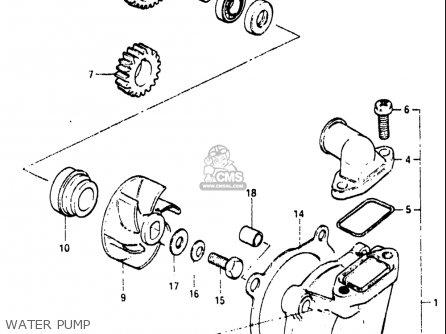 Suzuki Rm250 1982-1983 (usa) parts list partsmanual partsfiche