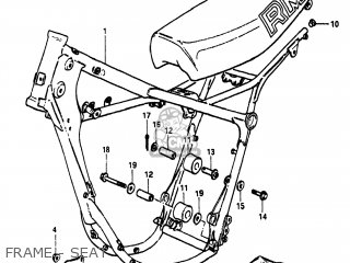Suzuki RM250 1982 (Z) USA (E03) parts lists and schematics