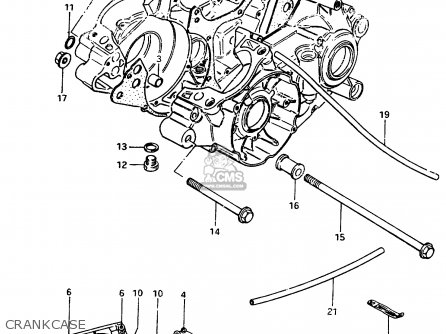 Suzuki RM250 1983 (D) parts lists and schematics