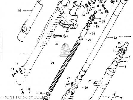 Suzuki Rm250 1984 (e) parts list partsmanual partsfiche
