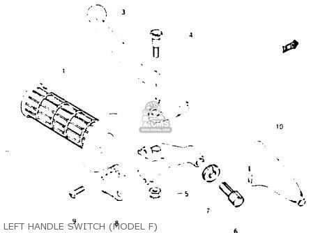 Suzuki RM250 1984 (E) parts lists and schematics