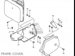 Suzuki RM250 1984 (E) USA (E03) parts lists and schematics