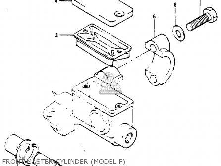 Suzuki RM250 1985 (F) parts lists and schematics