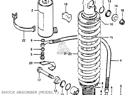 Suzuki RM250 1985 (F) parts lists and schematics