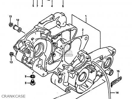 Suzuki RM250 1988 (J) UNITED KINGDOM FRANCE AUSTRALIA (E02