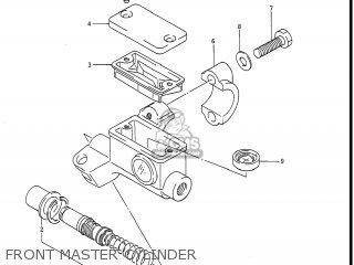 Suzuki Rm250 1988 (j) Usa (e03) parts list partsmanual