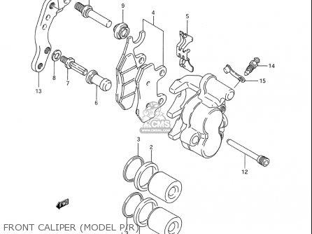 Suzuki Rm250 1993-1995 (usa) parts list partsmanual partsfiche