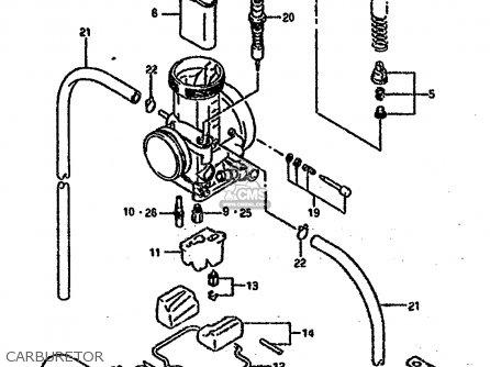 Suzuki Rm250 1993 (p) United Kingdom France Australia (e02