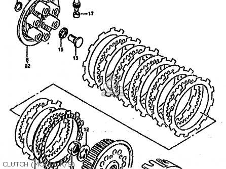 Suzuki Rm250 1995 (s) (e02 E04 E24 P37) parts list