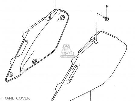 Suzuki RM250 1996 (T) (E02 E04 E24) parts lists and schematics