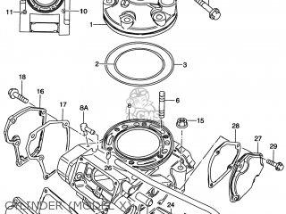 Suzuki Rm250 1996 (t) Usa (e03) parts list partsmanual