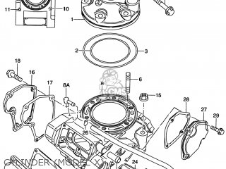 Suzuki RM250 1997 (V) USA (E03) parts lists and schematics