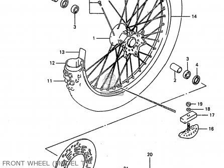 Suzuki Rm250 1998 (w) (e02 E04 E24 P37) parts list