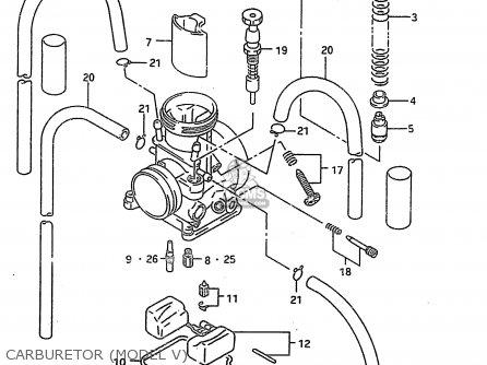 Suzuki RM250 1999 (X) parts lists and schematics