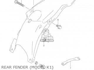 Suzuki RM250 2004 (K4) USA (E03) parts lists and schematics