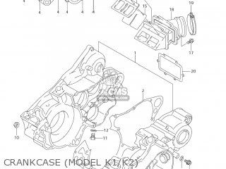 Suzuki RM250 2006 (K6) USA (E03) parts lists and schematics