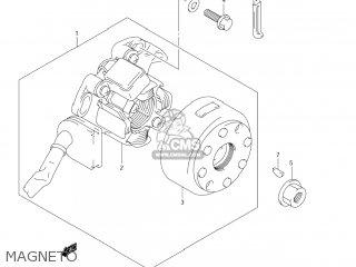 Suzuki Rm250 2007 (k7) Usa (e03) parts list partsmanual