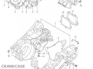 Suzuki RM250 2008 (K8) USA (E03) parts lists and schematics