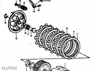 Suzuki RM370 1976 (A) USA (E03) parts lists and schematics