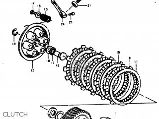Suzuki Rm400 1978 (c) Usa (e03) parts list partsmanual