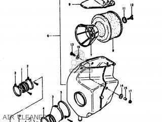 Suzuki Rm400 1979 (n) Usa (e03) parts list partsmanual