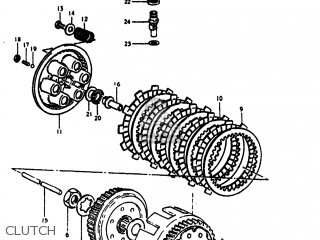 Suzuki Rm400 1979 (n) Usa (e03) parts list partsmanual