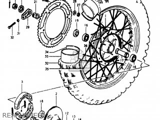 Suzuki RM400 1980 (T) USA (E03) parts lists and schematics