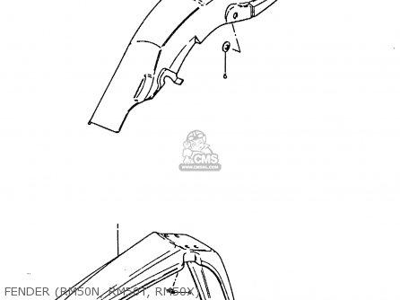 Suzuki RM50 1981 (X) parts lists and schematics