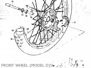 Suzuki Rm500 1984 (e) Usa (e03) parts list partsmanual