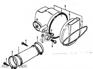 Suzuki RM60 1981 (X) USA (E03) parts lists and schematics