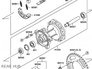 Suzuki Rm60 2003 (k3) Usa (e03) parts list partsmanual
