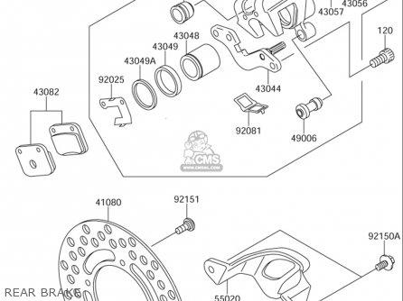 Suzuki Rm65 2003-2005 (usa) parts list partsmanual partsfiche