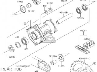 Suzuki Rm65 2003 (k3) Usa (e03) parts list partsmanual