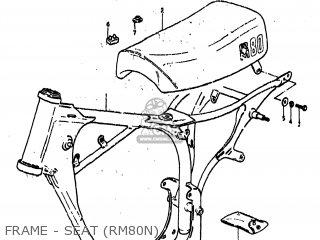 Suzuki RM80 1977 (B) USA (E03) parts lists and schematics