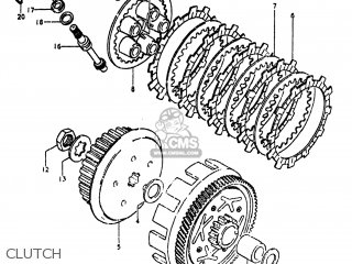 Suzuki Rm80 1980 (t) Usa (e03) parts list partsmanual