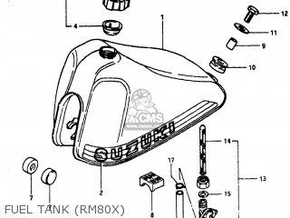 Suzuki Rm80 1980 (t) Usa (e03) parts list partsmanual
