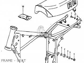 Suzuki RM80 1981 (X) USA (E03) parts lists and schematics