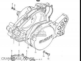 Suzuki RM80 1983 (D) USA (E03) parts lists and schematics