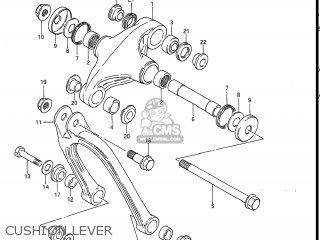 Suzuki Rm80 1984 (e) Usa (e03) parts list partsmanual