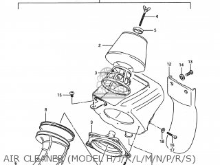Suzuki RM80 1989 (K) USA (E03) parts lists and schematics