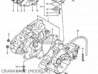 Suzuki RM80 1990 (L) USA (E03) parts lists and schematics