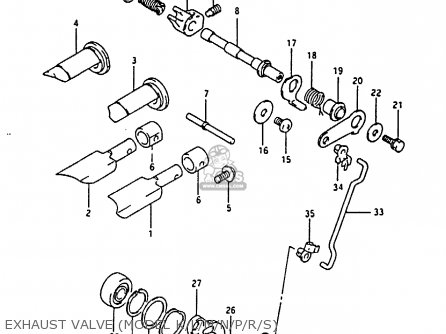 Suzuki Rm80 1991 (xm) parts list partsmanual partsfiche
