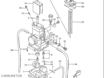 Suzuki Rm80 1996-1999 (usa) parts list partsmanual partsfiche